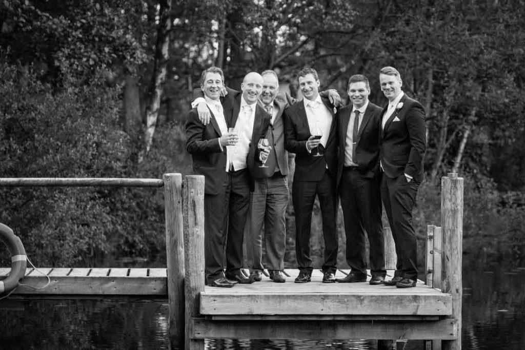 Wedding-Groom-friends-on-jetty-1024x683